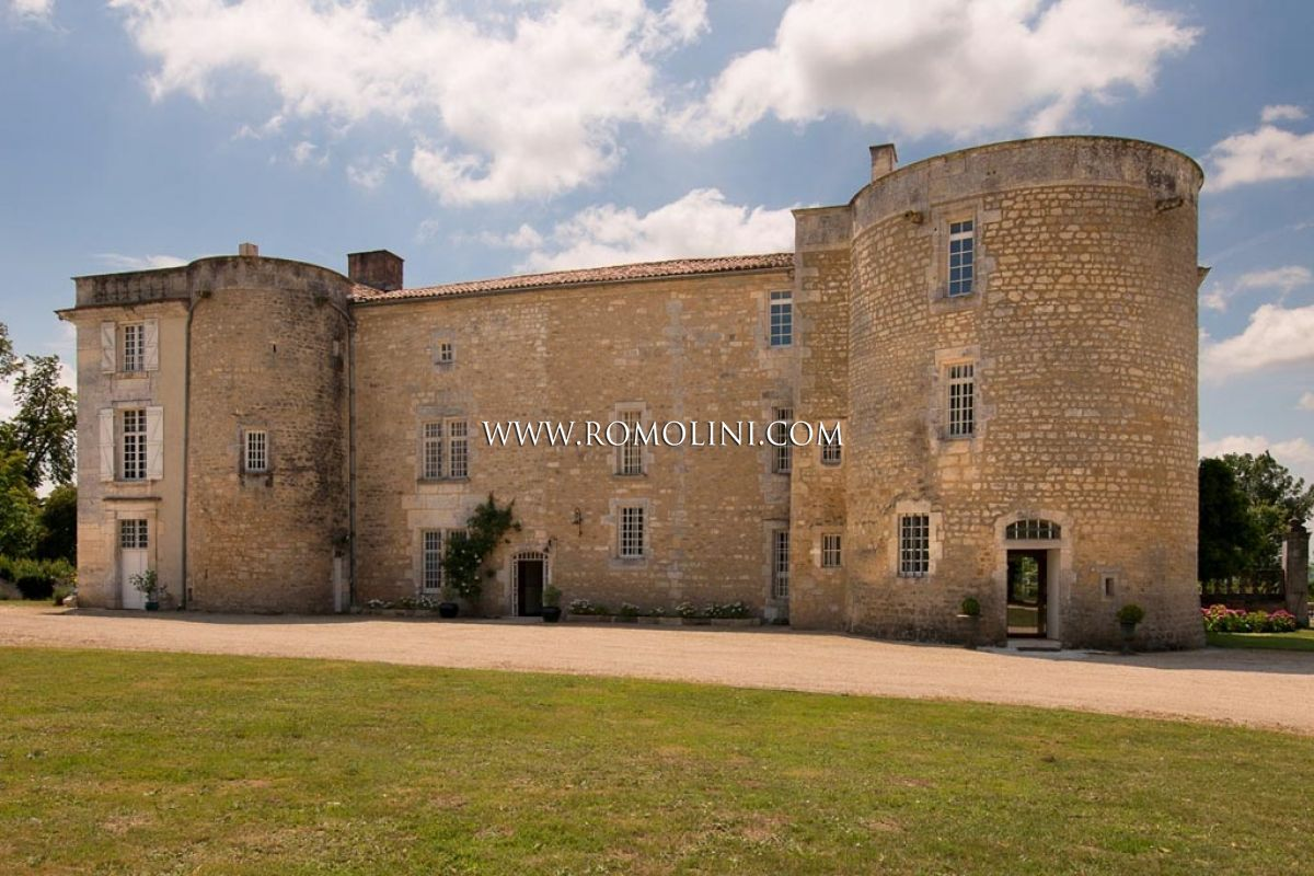 MANSION WITH PARKLAND FOR SALE IN FRANCE, Poitou-Charentes, Cognac