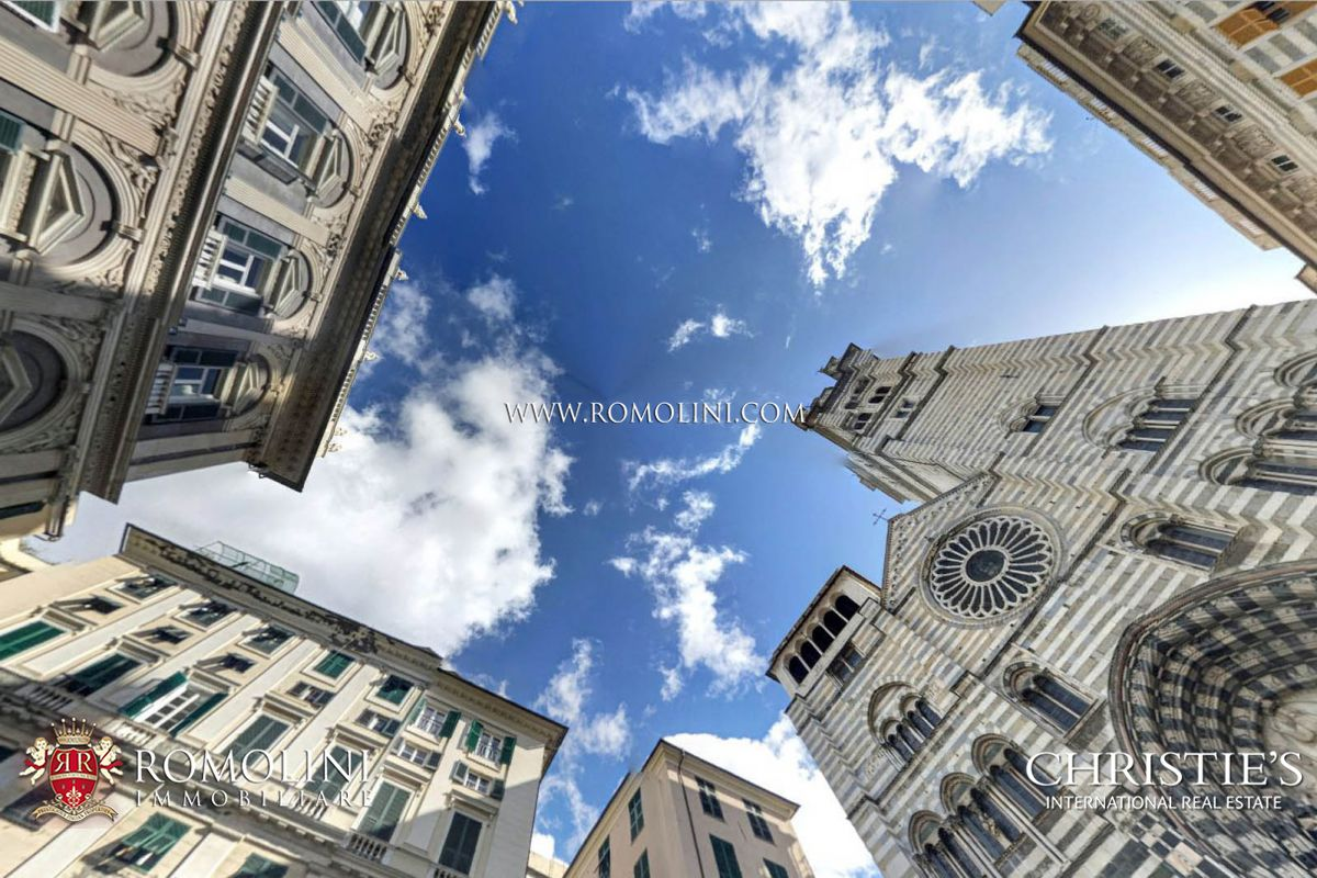 PALAZZO CICALA GENOVA: 4 STAR HOTEL FOR SALE (11 bedrooms)