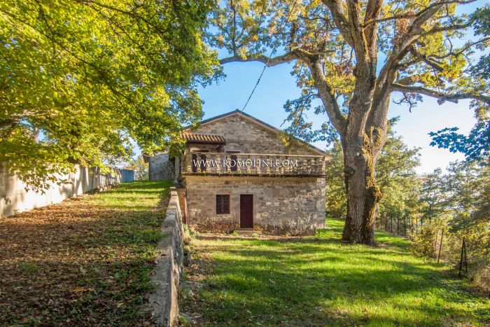 AREZZO, TUSCANY: COUNTRY HOUSE WITH GARDEN FOR SALE