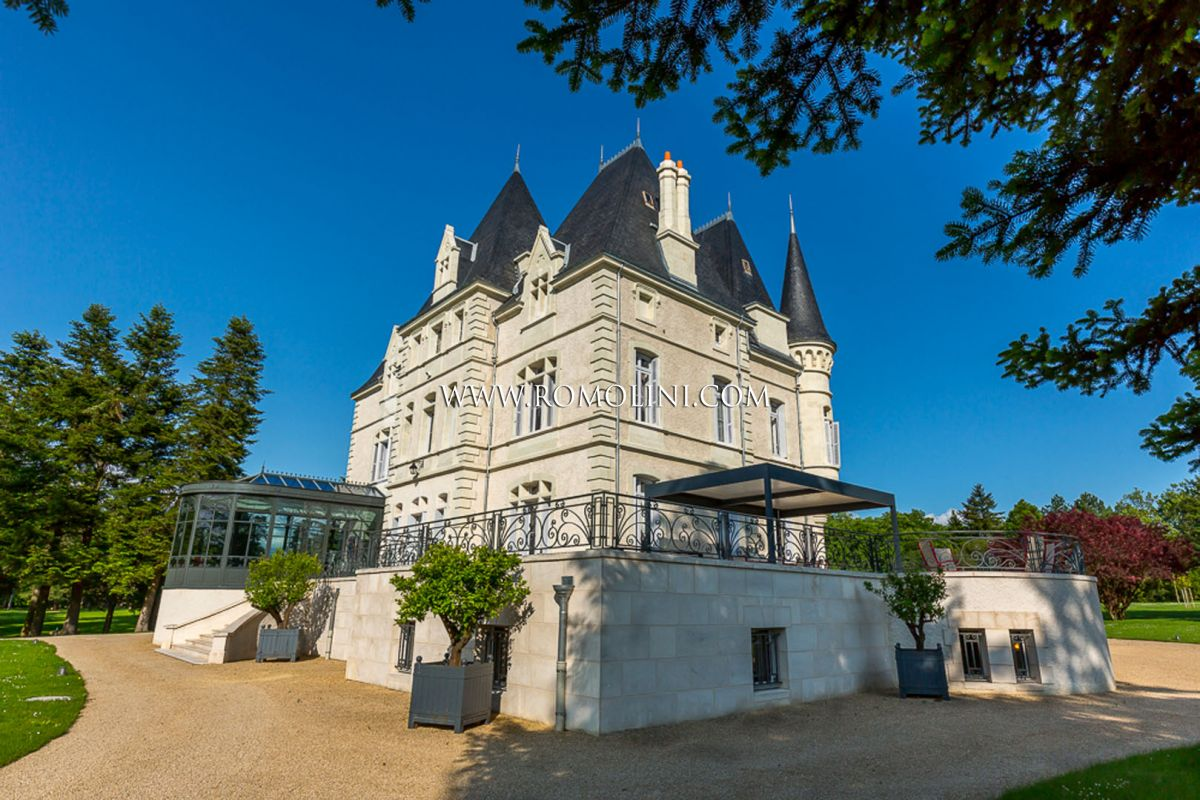 FRENCH CASTLE WITH PARK FOR SALE IN POITIERS
