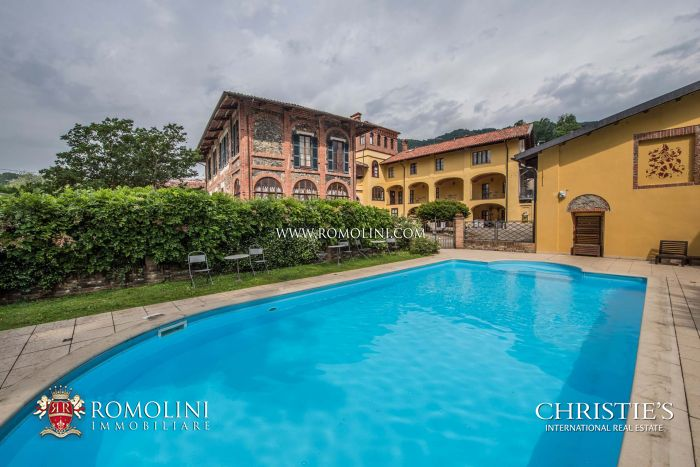 BOUTIQUE HOTEL, LUXURY VILLA FOR SALE IVREA