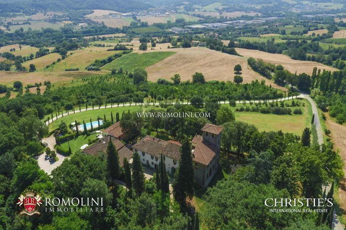 ESTATE FOR SALE IN FLORENCE, RIGNANO SULL'ARNO