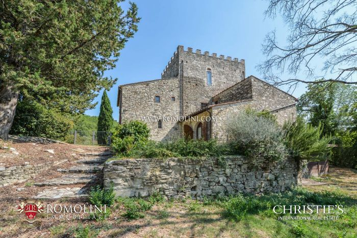 RESTORED MEDIEVAL TOWER FOR SALE IN FLORENCE, TUSCANY