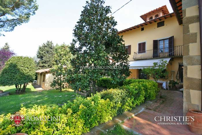 CHIANTI WINE ESTATE, OIL MILL FOR SALE IN TUSCANY