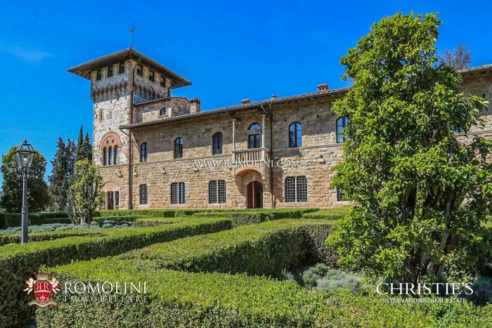 LUXURY VILLA FOR SALE IN SAN GIMIGNANO, SIENA, TUSCANY